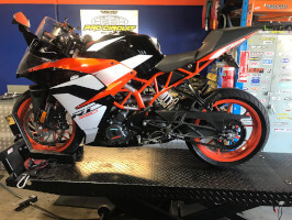 KTM 390 scheduled service